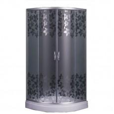 Овална душ кабина R-02 90х90х200 см