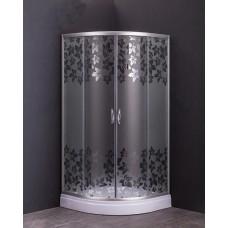 Овална душ кабина R02