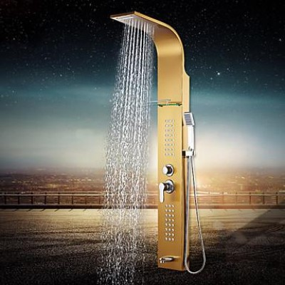 Хидромасажен душ панел от неръждаема стомана А318